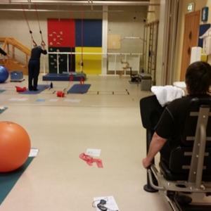 Bilde av trening dagtid Friskliv