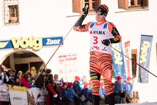Petter Eliassen kan juble over seier i La Diagonela ifjor.  Foto: Arrangøren