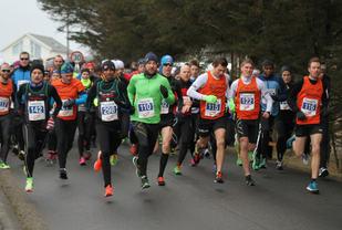 Start 10km i fjorårets konkurranse.