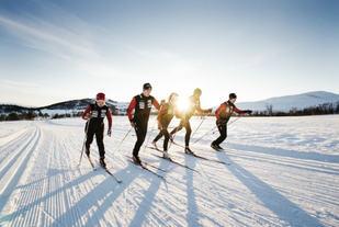 Slik håper arrangøren det vil se ut 27.februar når det igjen er klart for Skienern. Foto: Arrangøren