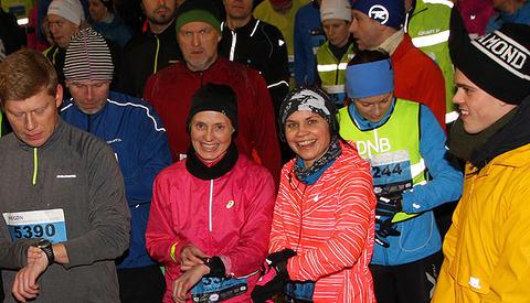 Camilla Van Veen og Kjersti Rognes Solbu er klare til start i NECON Vinterkarusell.