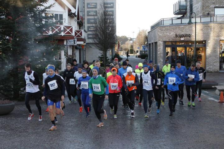 Fra løpet i Søgne i fjor. (Foto: maraton.no - Egil Lehne)