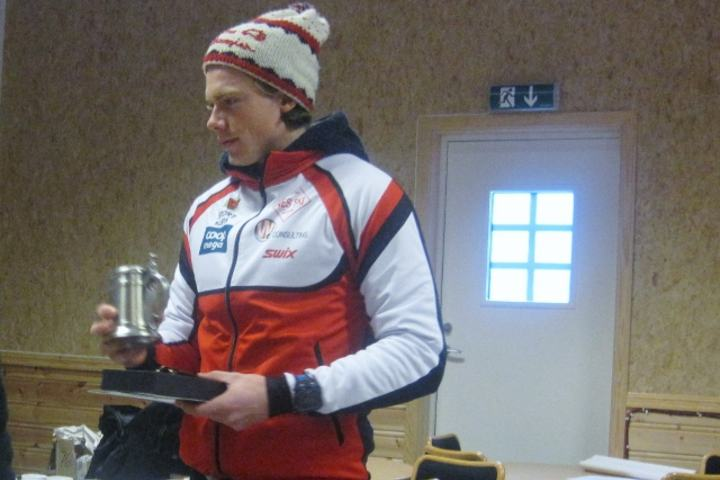 Jonas Amundsen var raskest av alle i Fenstadrunden 2016 (foto: Tor Strand).