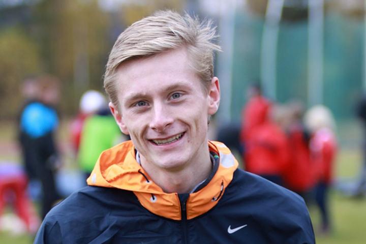 Ferdinand Kvan Edman løp fortere enn han noen gang har gjort både ute og inne da han vant 3000 meteren i Frank Sevigne Husker Invitational på 8.04,49. (Arkivfoto: Stig Vangsnes)