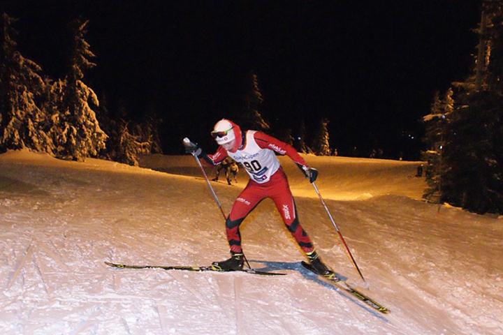 Simen Krogstie Bjørgan var raskest til topps på lang løype. (Foto: Stein Arne Negård)