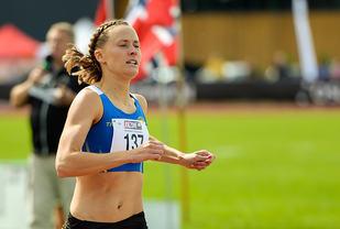 Hedda Hynne er en av de ti som er tatt ut til Friidrettsforbundets elitelag, Team Tokyo. (Foto: Erling Pande Braathen)