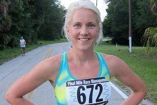 Ragnhild Kvarberg Hjelle er blitt 36 år og mor til tre, men løper imponerende fort fremdeles. (Arkivfoto: Runar Gilberg)
