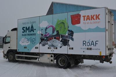 Miljøbilen fra ROAF
