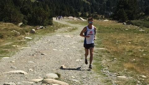 Trond Hansen på høydetrening i Font Romeu på 1800 meters høyde i Pyrineene.