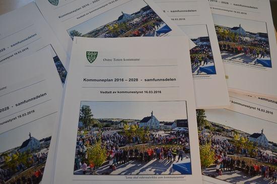 Forsiden av plandokumentet - kommuneplans samfunnsdel 2016-2028