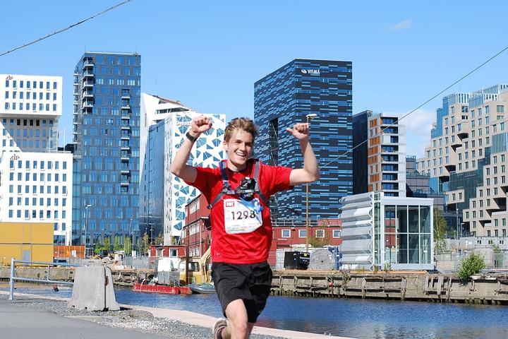 I år skal inntil 2500 løpere juble mot mål, slik Jan Reifenröther gjorde i fjor (foto: Marit Karlsen).