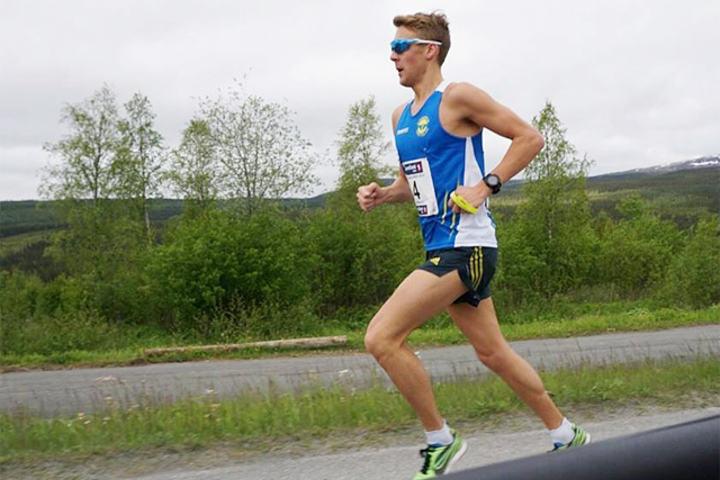 Trond Ørjan Eide løp inn til norsk årsbeste på 5 km i Ørasprinten. (Arkivfoto: Ove Baardsgaard)
