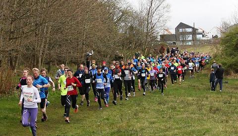 Noen løp øker, noen opplever nedgang. Årets Siddisløp viste seg å bli en god del mindre enn fjorårets. (Foto: Kristian Gautesen)