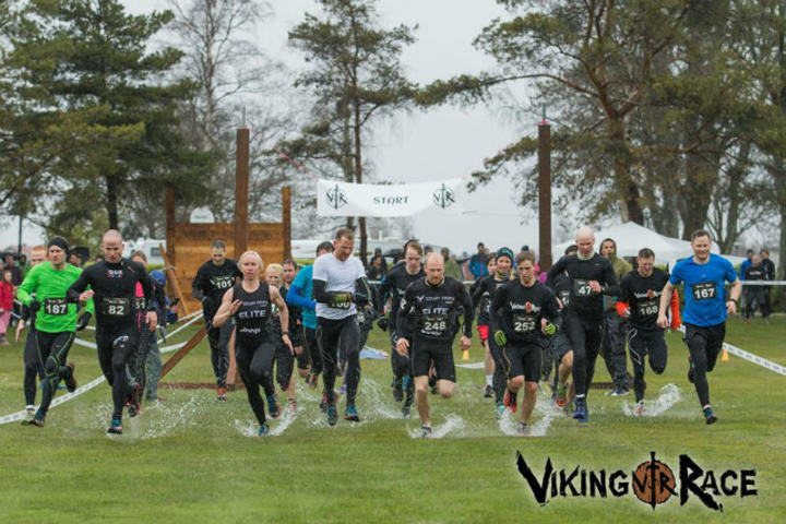 Eliten starter i full sprut, bokstavelig talt (Foto: Epic Action Imagery)
