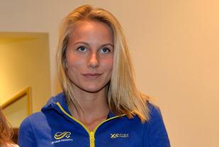 Sarah Lahti har virkelig slått gjennom i år, og nå satte hun svensk rekord på 10 km. (Foto: Bjørn Johannessen)
