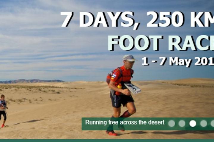 Et av toppbildene på 4 Deserts hjemmeside