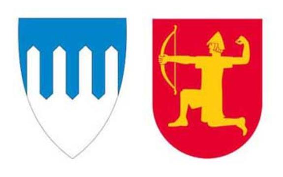 Skaun og Melhus kommunevåpen