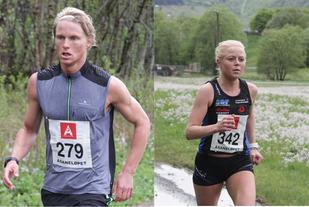 Sondre Øvre-Helland og Heidi Hestmark best i Åsaneløpet tidligere i år