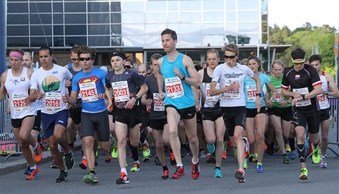 Start 10 km. Foto: Espen Ringom