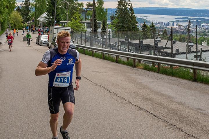 Joar Thele, Lyn fjorårets vvinner med fjorden i bakgrunnen. Foto: Arrangøren
