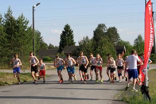 Det var 13 gutter og 4 jenter som testet seg i vårens utgave av testløpet som gikk av stabelen 1. juni.