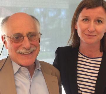 Bildet viser Ida Gram og David Hunter