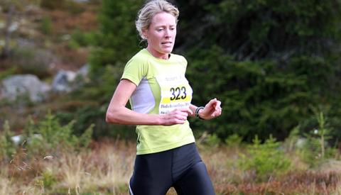 Kari Madslien her i Birken i 2010 der hun ble nr.6 totalt. Foto: Kjell Vigestad
