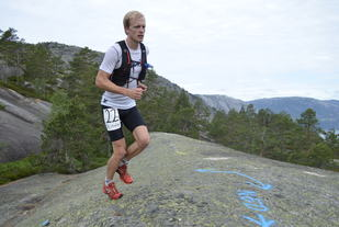 Kristoffer Nielsen vant den andre utgaven av Skuggenatten 12-timars (arrangørfoto).