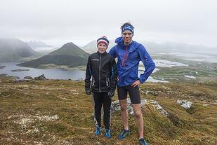 12-åringen Johan Nordeng (til venstre) vant Nonskollen Opp foran søskenbarnet August Nordeng. (Alle foto: Kenn Johannessen-Løkkegaard)