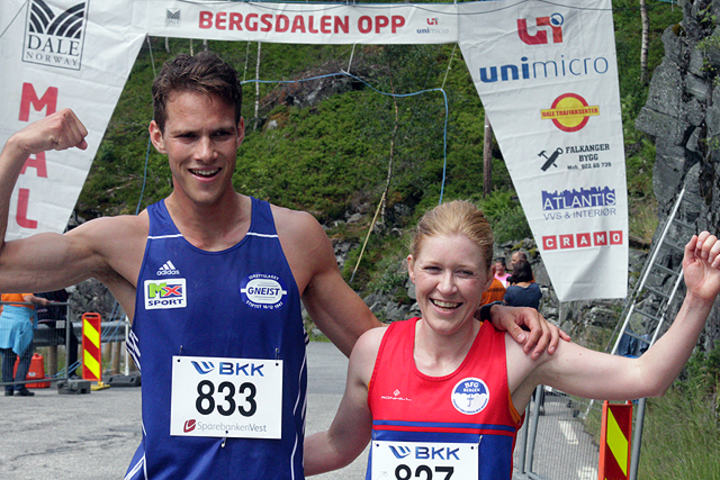Espen Roll Karlsen og Rebecca Hilland