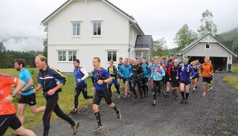 Start gått. Foto: Magne J. Krumsvik.
