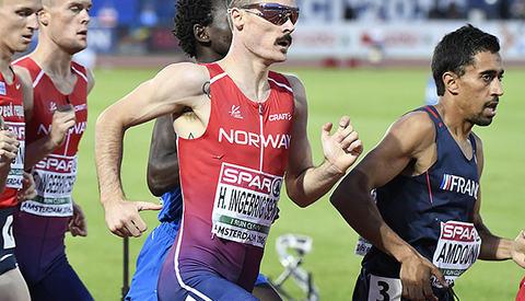 Mosjonister kan trene etter mye av de samme prinsipper som eliteløperne, her representert ved Henrik Ingebrigtsen (foto: Bjørn Johannessen).