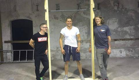 Grunnleggerne av Kraft Performance Center; Thomas Rode Hansen, Kim Bråthen og Ernst Matre (Foto: Ernst Matre)