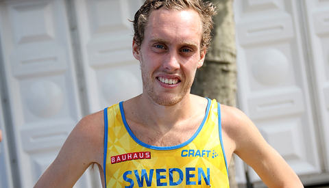 Mikael Ekvall løp i fjor høst maraton på 2.12.07, ei tid som i forrige OL ville holdt til sjuendeplass. Likevel blir han nekta å delta i OL i Rio. (Foto: Runar Gilberg)