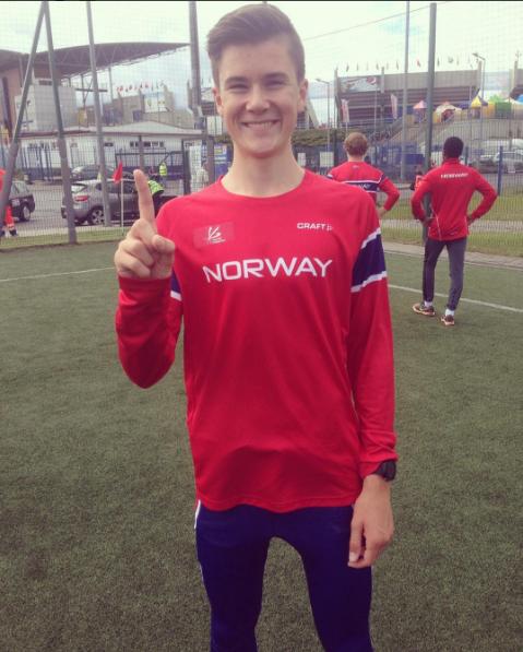 Jakob Ingebrigtsen til finalen på 1500 m i junior-VM med 3/100 ...