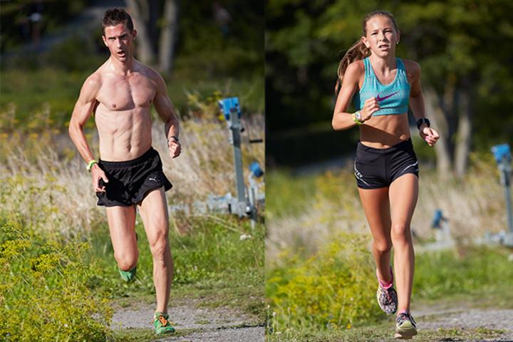 Martin Kjäll-Ohlsson, Vidar og Maja Ellefsrud, Nesodden vant årets Lindøya Rundt (Foto: Stian S. Møller)