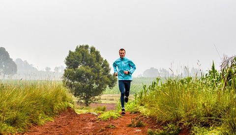 Sondre Nordstad Moen har forberedt seg til OL med å trene i høyden i Kenya. (Foto: David André Aasen)