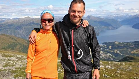 Yoie Bohlin og Sindre Hoff. Foto: Martin Hauge-Nilsen