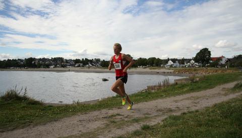 Ole-Petter Fjeld vant Kystleden Halvmaraton.