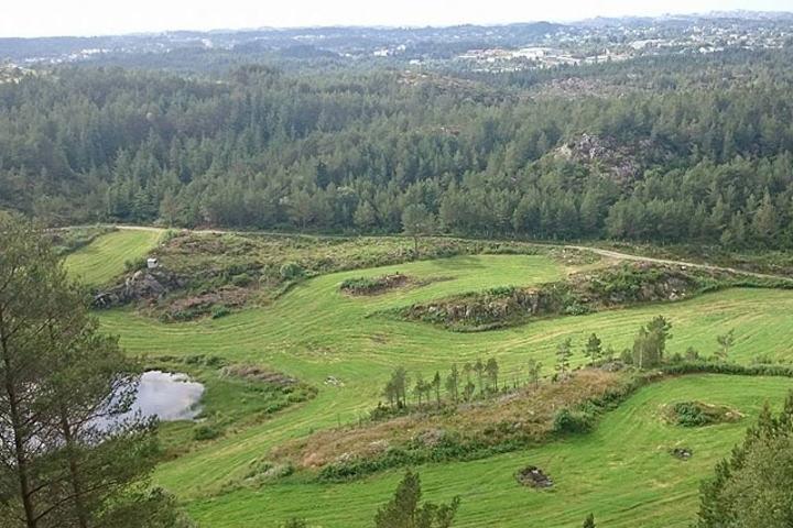 Utsikt frå Grimsfjellet. Foto: Arrangøren
