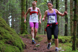 Inge Asbjørn Haugen logger maratonløp uansett underlag. Kommer nummer 526 i Bergen ? - Foto Oddny Ringheim