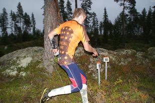 Jostein Svaland Dale, OL Vallset/Stange ble vinner av H15.16. (Foto: Stein Arne Negård)