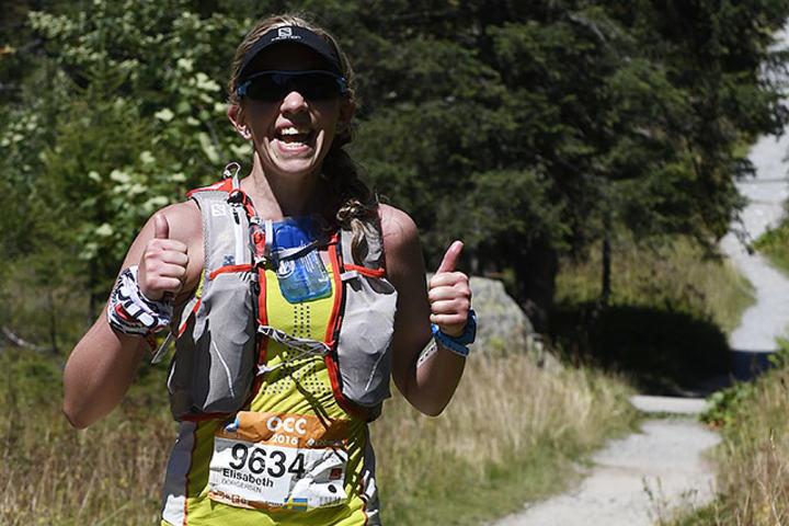 Svensk-norske Elisabeth Borgersen gjorde sitt livs løp og ble nummer seks i OCC. (Foto: Bjørn Johannessen)