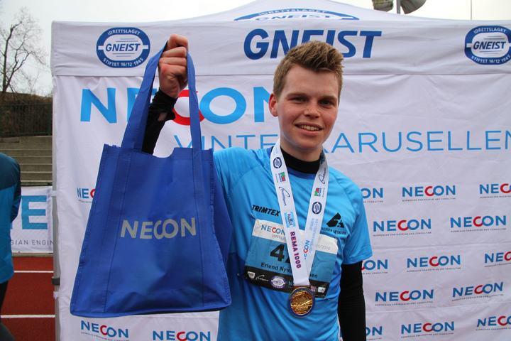 Erlend Nymark Andersen med bestemannspremie på 10 km