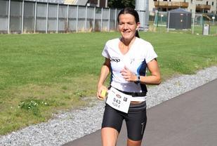 Hilde Ackenhausen imponerte med solid ny pers da hun vant Ringerike 6-timers (foto: Olav Engen)