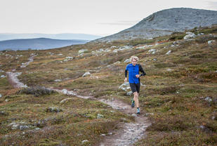 I helga kan du gjøre som Sondre Amdahl og forsere stier opp og ned i Trysilfjellet. (Foto: Mikael Kårelind)