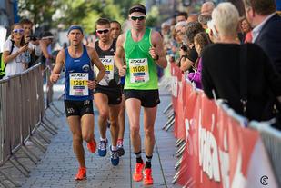 Det ble en drøy halvmaratondistanse for løperne i Drammensmaraton i år. (Foto: Sylvain CAVATZ)