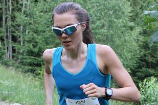 Yngvild Kaspersen har tidligere vunnet 23 kilometeren i Mont Blanc Marathon. Nå vil hun prøve seg på en over dobbelt så lang distanse i Ultra-trail du Mont Blanc. (Foto: Runar Gilberg)