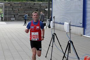 Bjarte Vik inn til en flott 3.plass i forrige løp