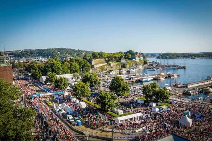 Oslo Maraton er et gigantisk arrangement med en idèell klubb som arrangør, men der er ingen selvfølge (arrangørfoto).